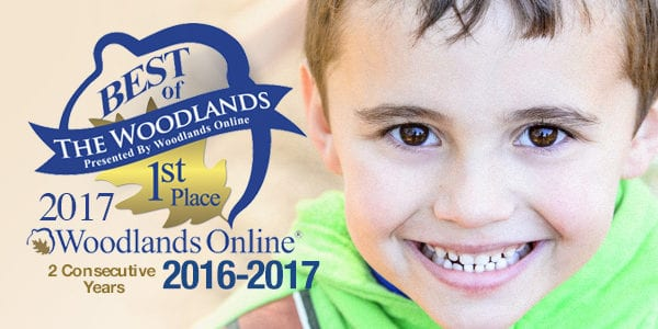 Voted Best of The Woodlands 1st Place